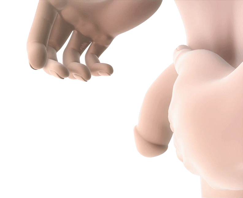 Penis stretching Step 3
